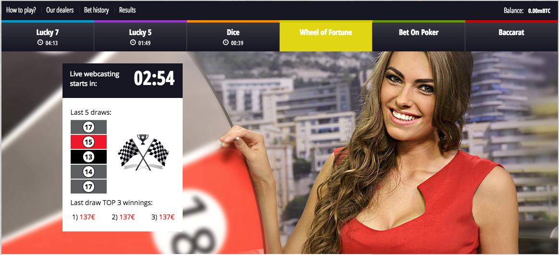 live dealer lottery