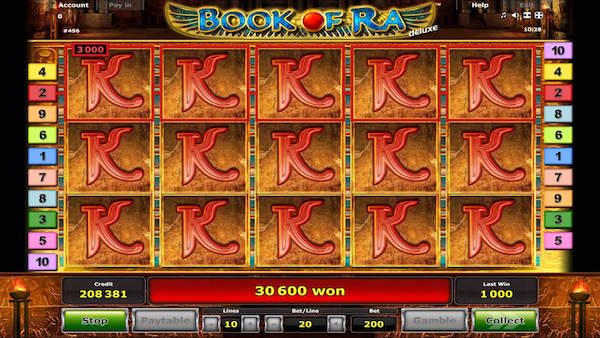 bitcoin casino book of ra