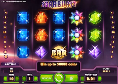 online internet casino starbusrt