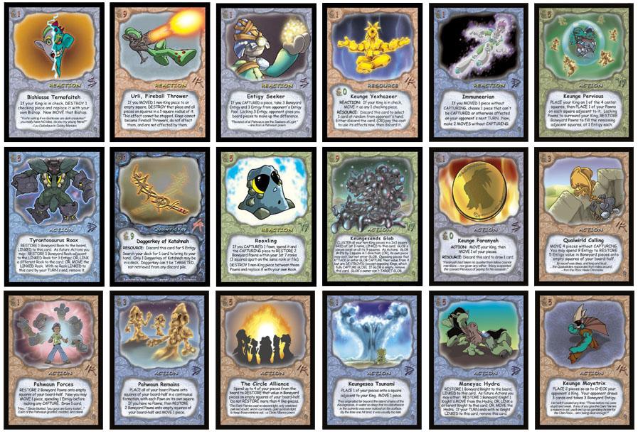 Games pdf card